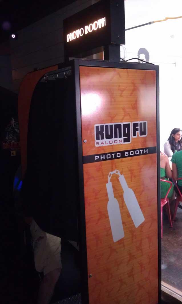 Bar Partners - Kung Fu Saloon
